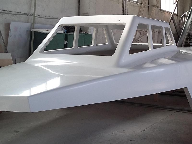 Детали из стеклопластика для лодок
