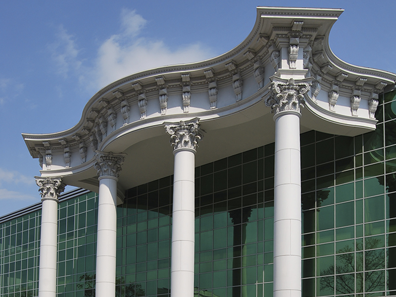лепной декор для фасада