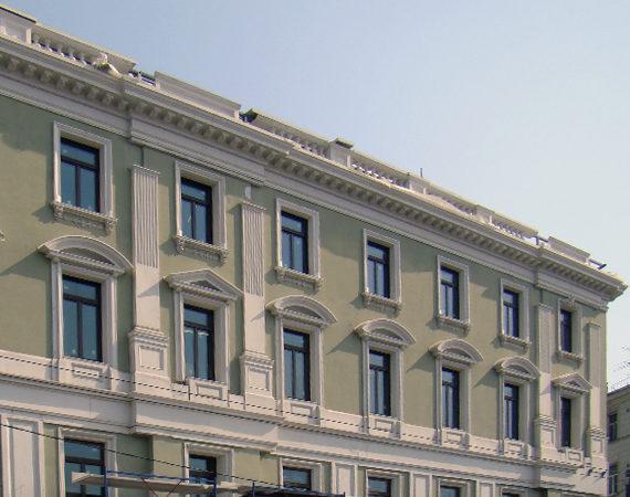 реставрация старых фасадов