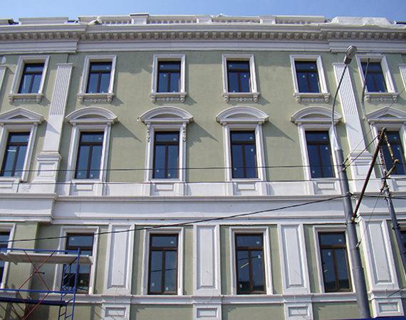 реконструкция старых фасадов