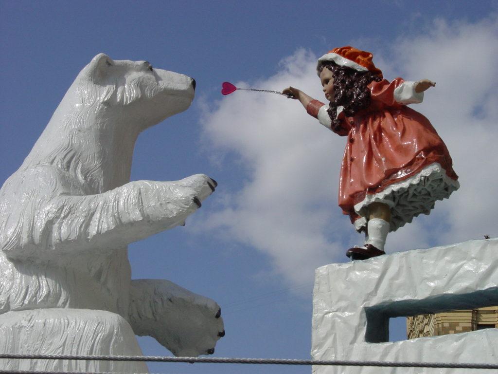 Рекламная конструкция «Белый медведь»