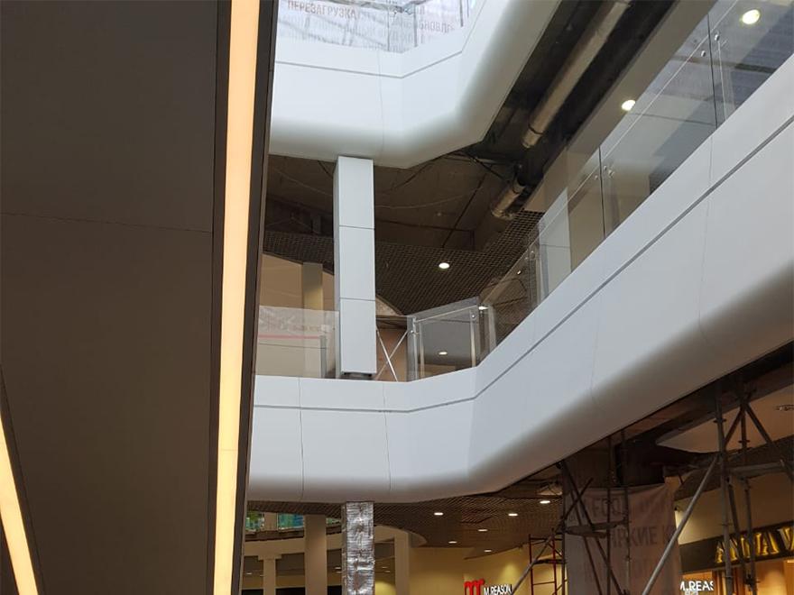 архитектурная отделка из стеклокомпозита